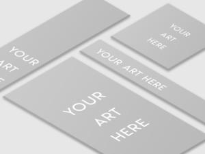 Isometric 3D Display Ad Showcase Design Freebie .PSD | VIP Graphics