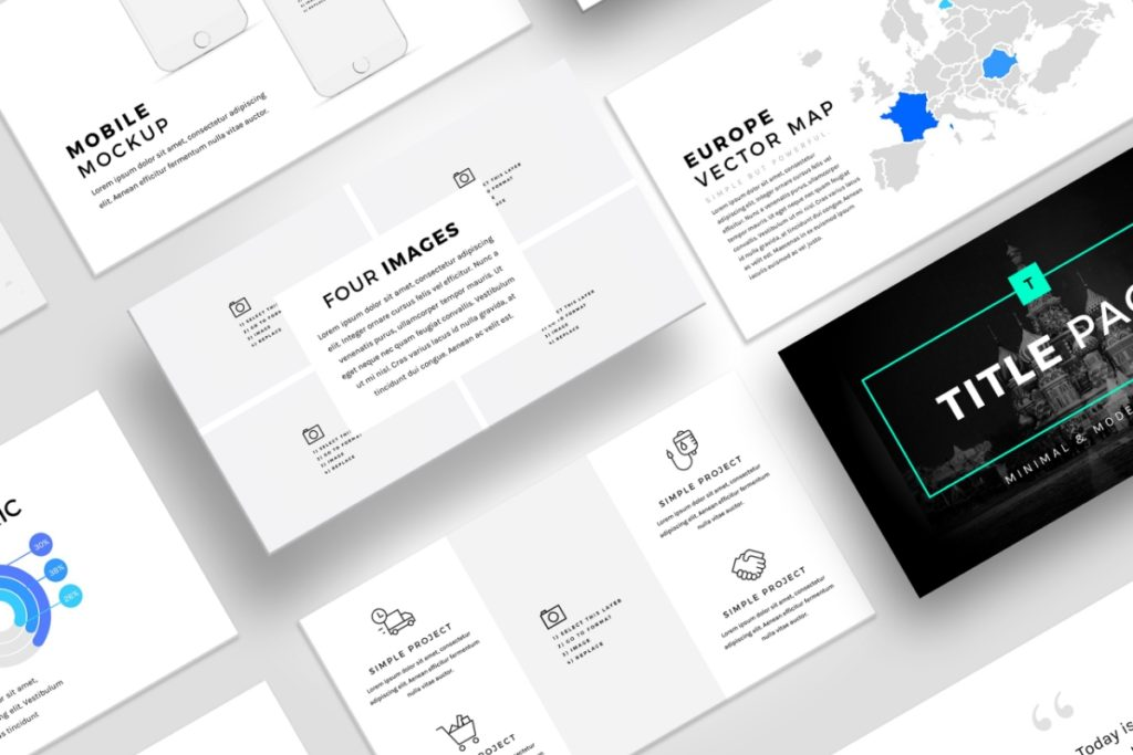 Silicon Pitch Deck Template (.PPT) | VIP Graphics