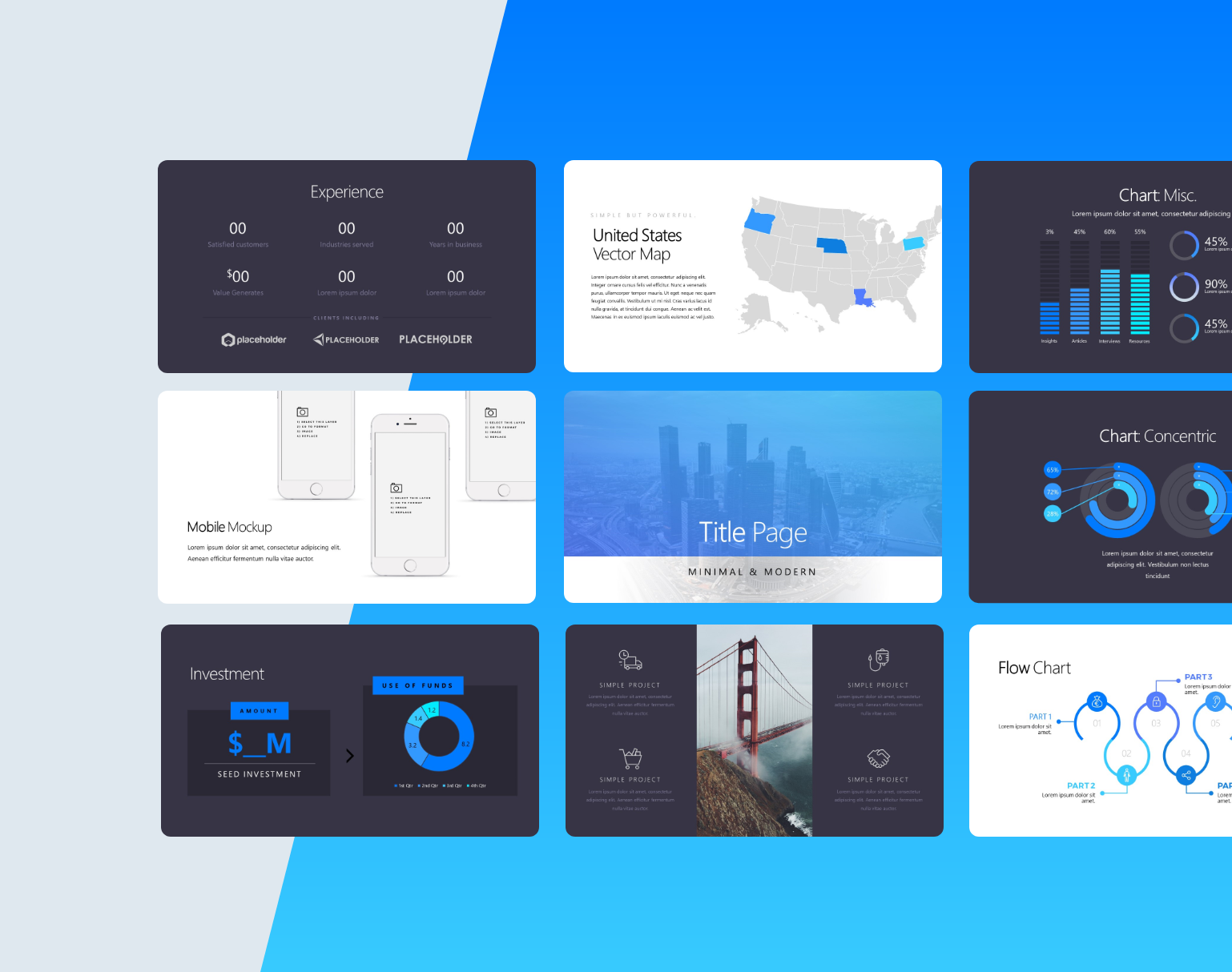 Freebie: Silicon Pitch Deck Template (.PPTX) – Excerpt