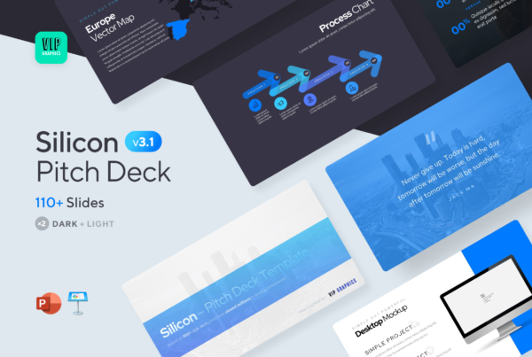Silicon – Pitch Deck Template