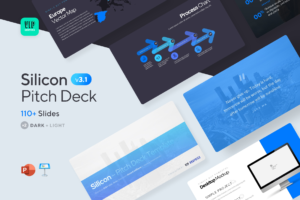 Silicon Pitch Deck: based on 100+ winning startups | VIP.graphics