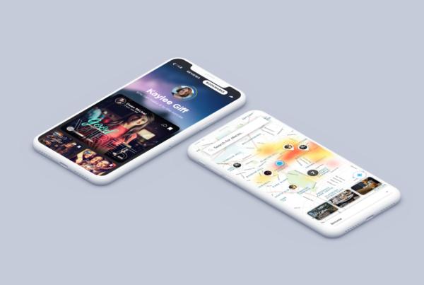 Places™ UI Kit — Social Media & Maps