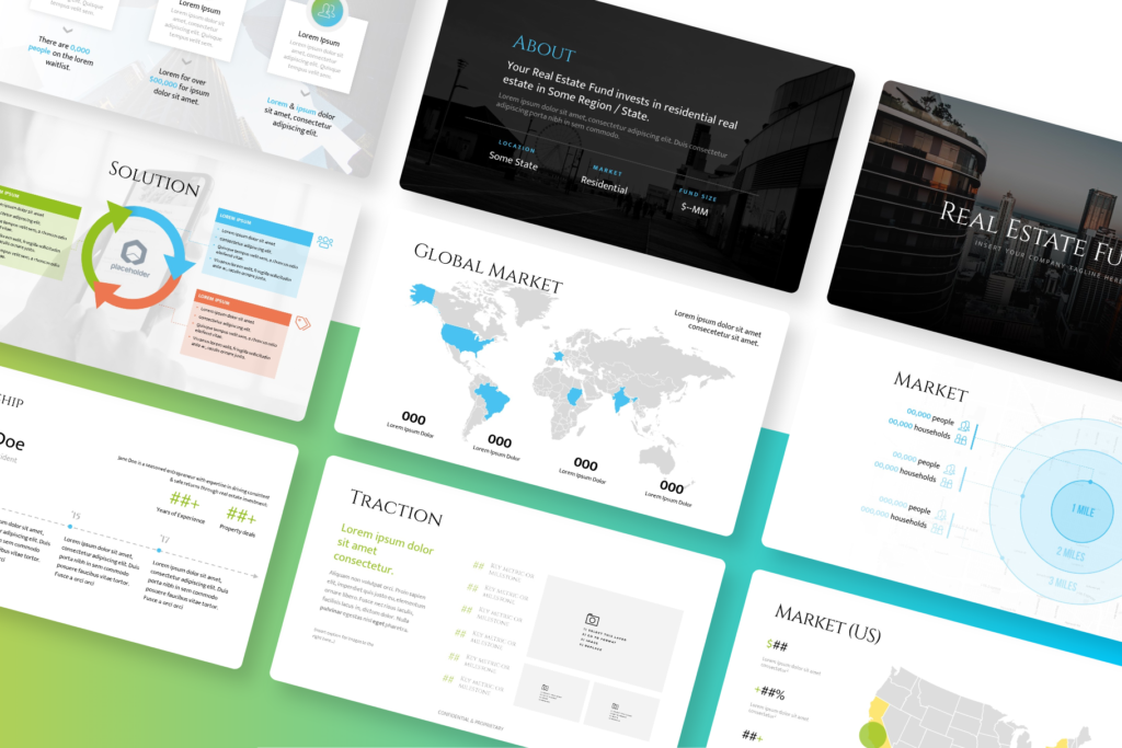 Real Estate Presentation Template for Powerpoint & Keynote| VIP.graphics