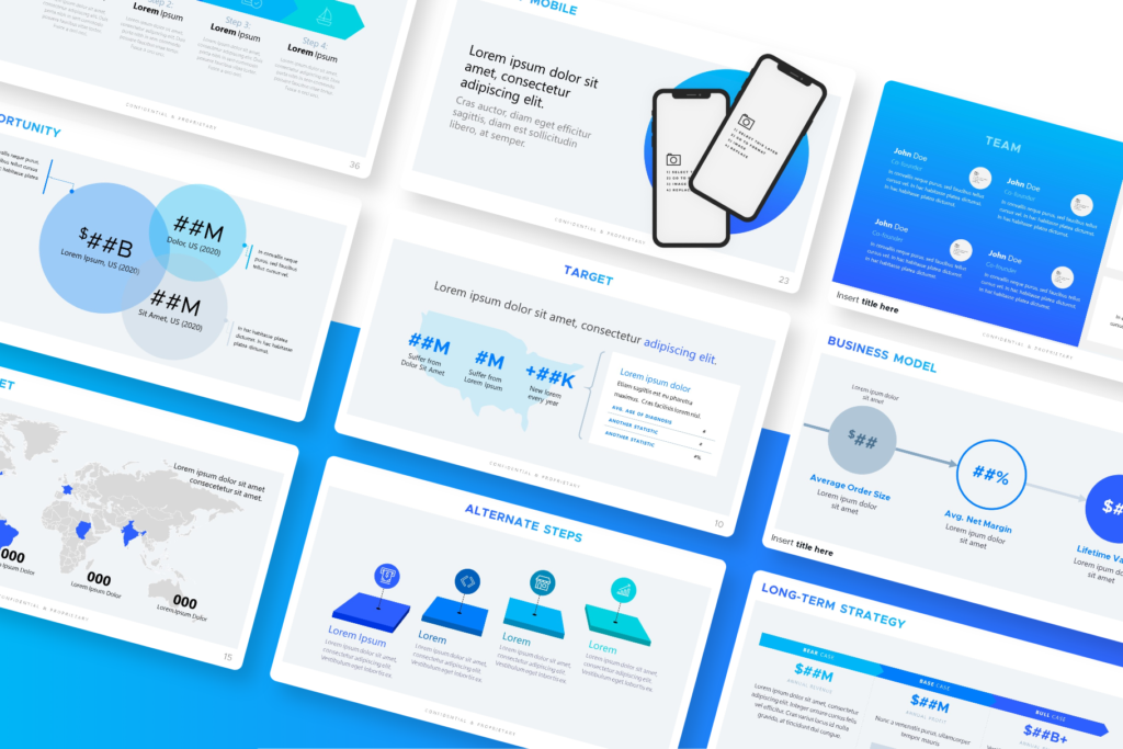 Health & Medicine Pitch Presentation Template for PowerPoint & Keynote - Healthcare, MedTech, Medical Devices | VIP.graphics