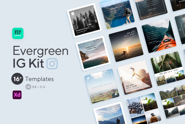 Evergreen Drag-n-Drop Instagram Kit