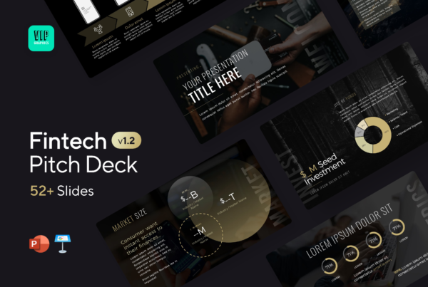 Fintech Pitch Deck Template