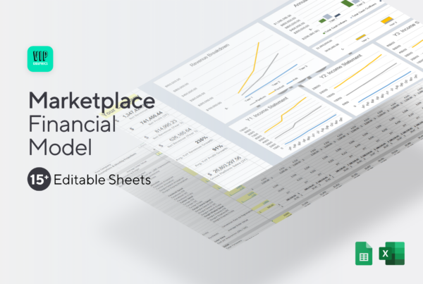Marketplace Startup Financial Model Template
