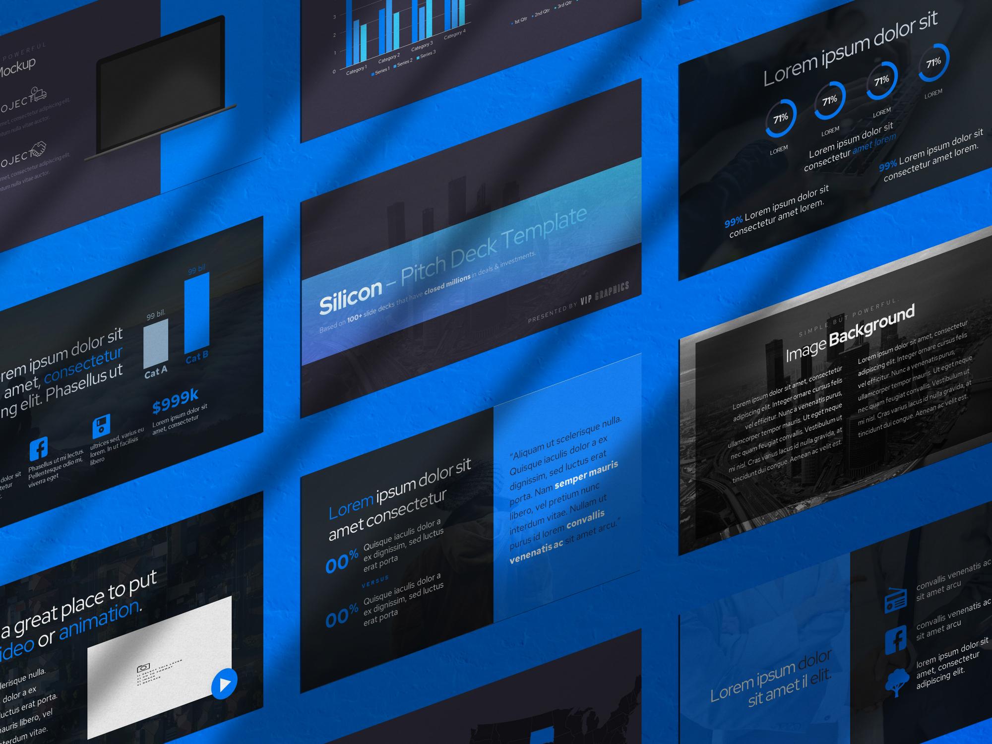Photorealistic Keynote / Presentation Mockup PSD Template Bundle | VIP.graphics