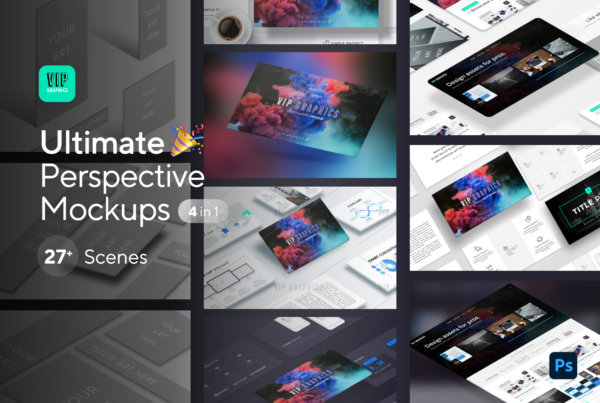 Ultimate Perspective Mockups Bundle