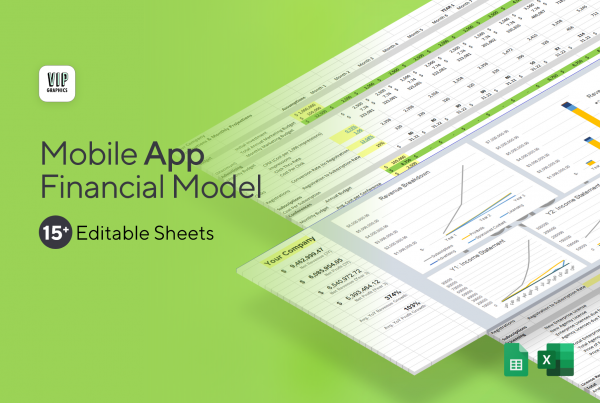 Mobile App Financial Model & Projections Template