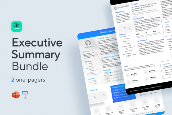 Executive Summary Bundle (.PPTX / .KEY)