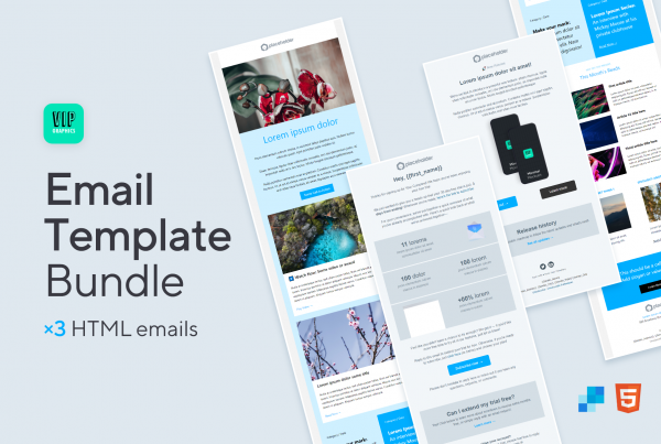 No-code Email Template Bundle