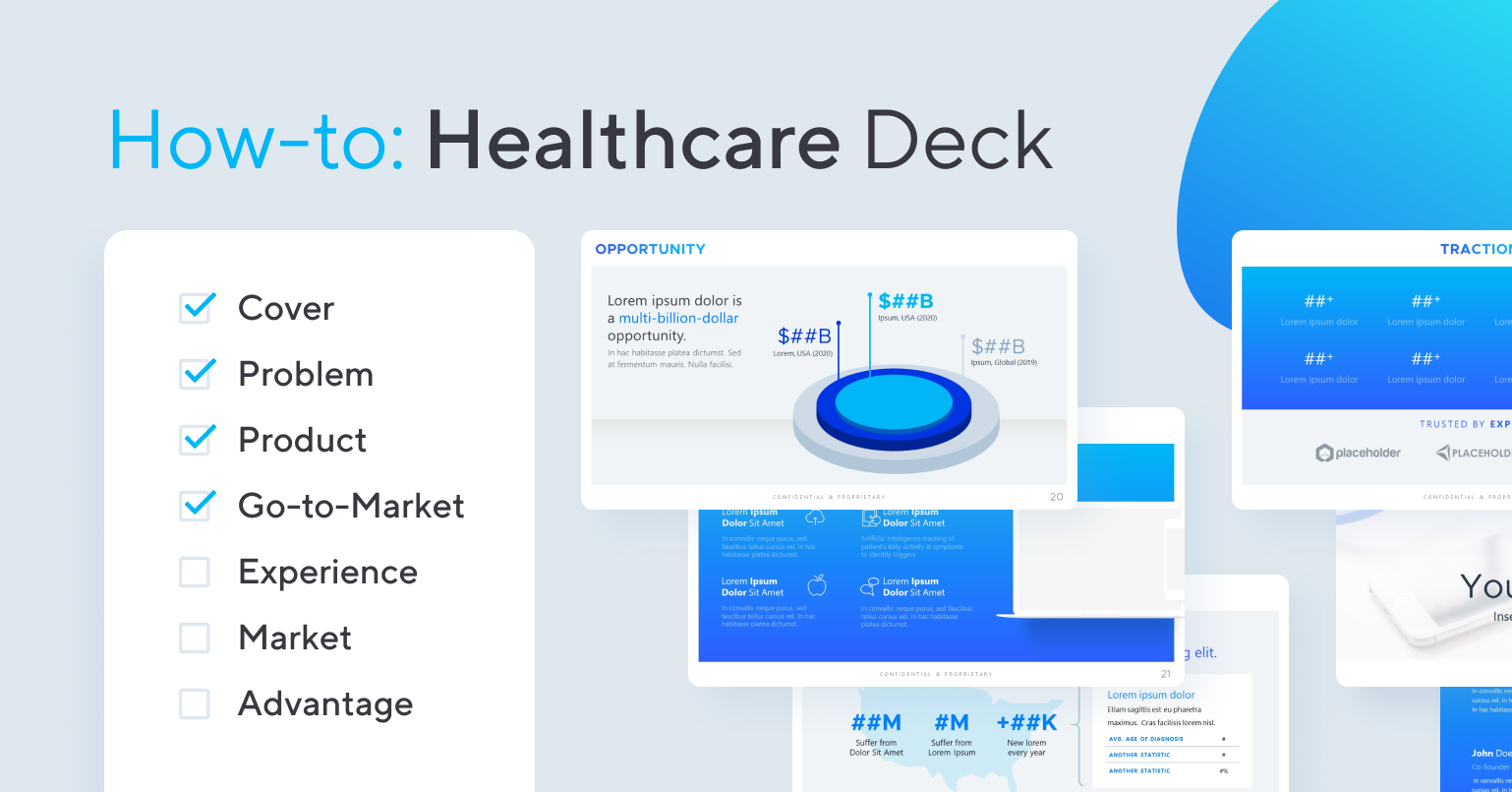 How to Create a Healthcare Pitch Deck