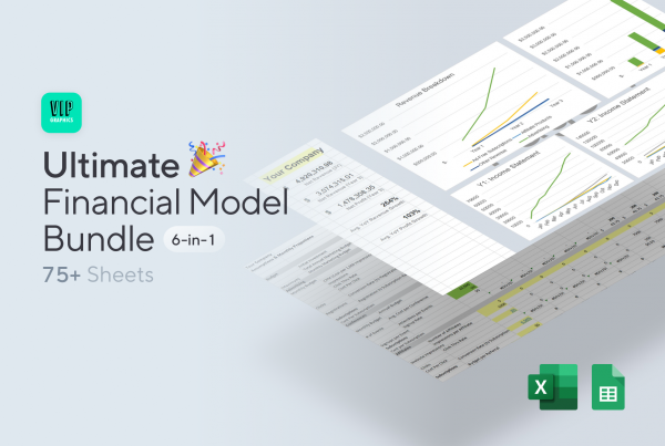 Ultimate Startup Financial Model Template