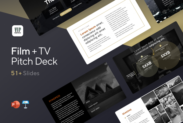 Film & TV Pitch Deck Template