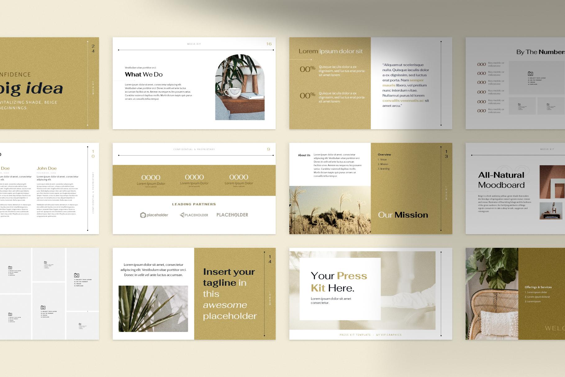 Freebie: Photorealistic Figma Mockup – Slides Grid