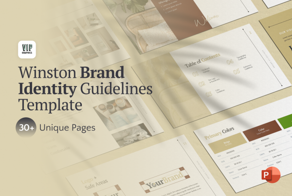 Brand Identity Guidelines PPT Template