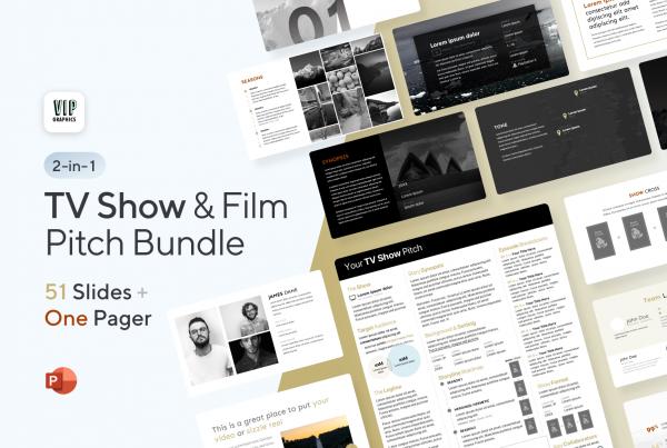 TV Show & Film Pitch Bundle