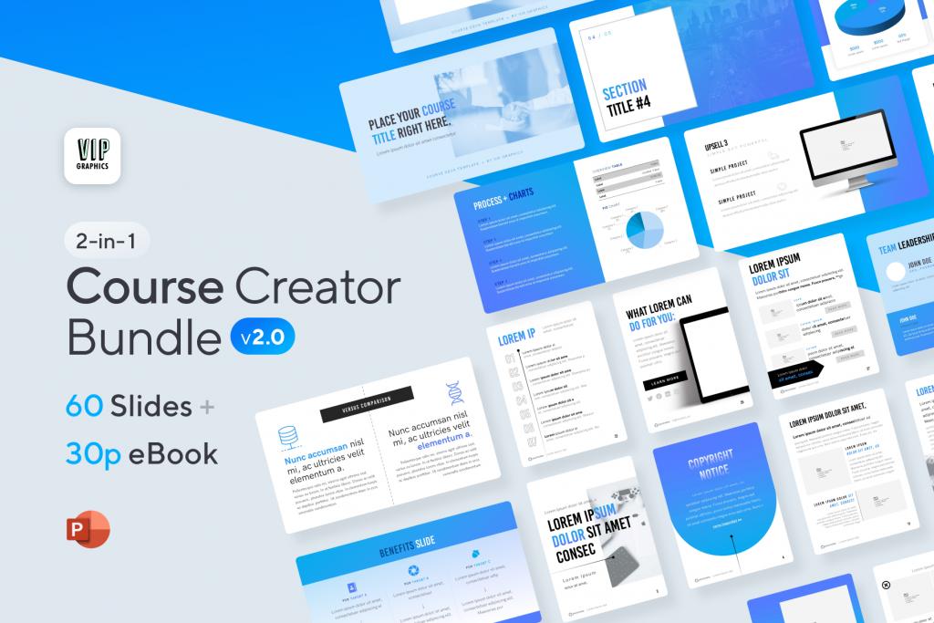 2-in-1 Course Creator Bundle: eBook + Slides