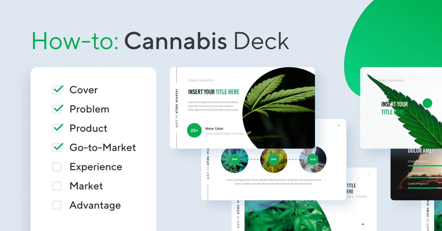 How to Create a Cannabis Pitch Deck
