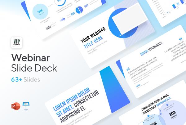 Webinar Slide Deck Template