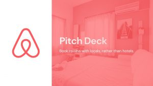 Airbnb Pitch Deck Template: Cover Slide — Best Pitch Deck Examples | VIP Graphics
