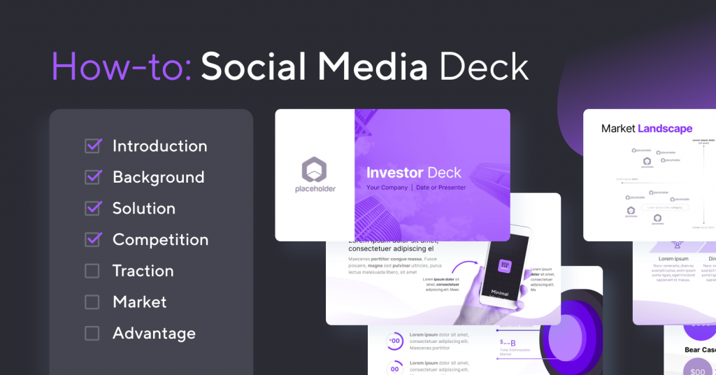 How to Create a Social Network Pitch Deck   VIP.graphics