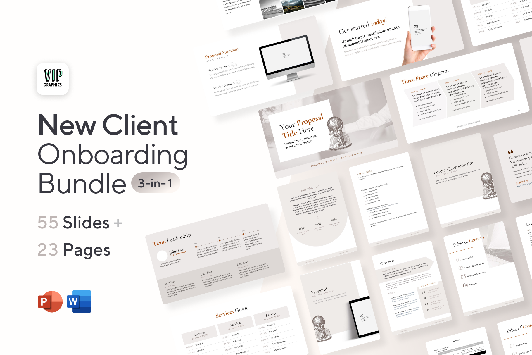 New Client Onboarding Bundle (3-in-1)
