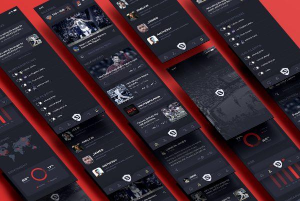 Sports UI Kit – Mobile App Design