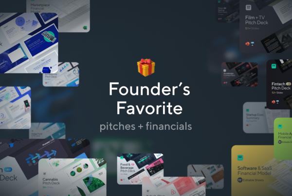 Founder's Favorite: pitch decks, financials, & more