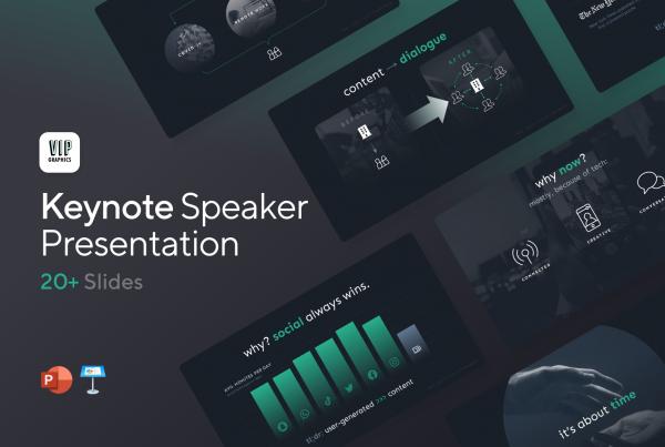 Conference & Keynote Speaker Presentation Template