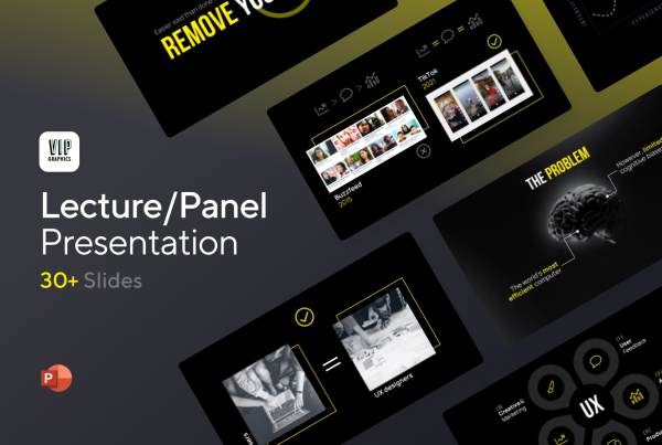 Lecture & Conference Presentation Template