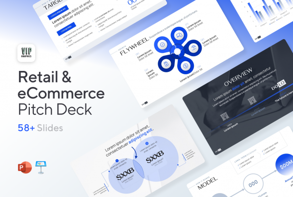 CPG Pitch Deck: for retail & eCommerce