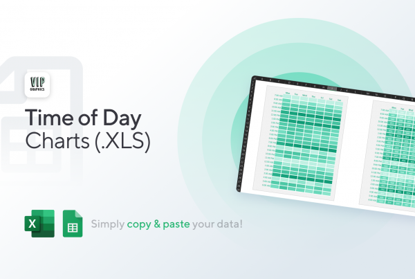 Busiest Time of Day Charts for Excel